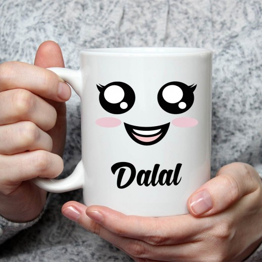 Name on Mug (Girl Design) - MU039 - delivered by Berwaz.com