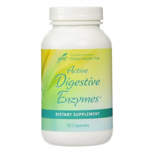 Active Digestive Enzymes+  Dietary Supplement 30 Capsules