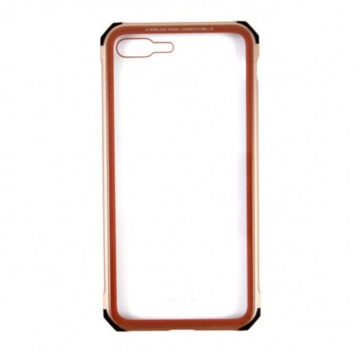WK Design Tikin Glass Case for iPhone 7/8 Plus - Gold
