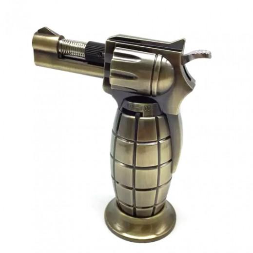 JP Gun Shape Cigar and Charcoal Lighter