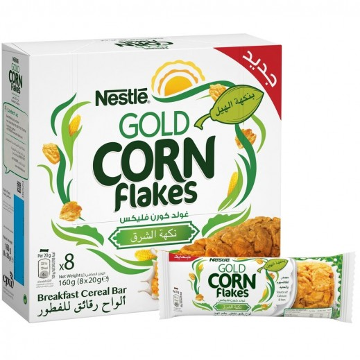 Nestle Gold Corn Flakes With Cardamom Fitness Cereal Bar 8 x 20 g