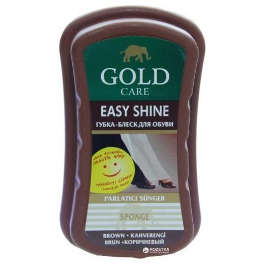 GoldCare Easy Shine Sponge - Brown