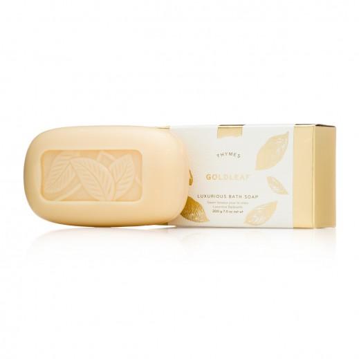 Thymes Goldleaf Luxurious Bar Soap 200 g