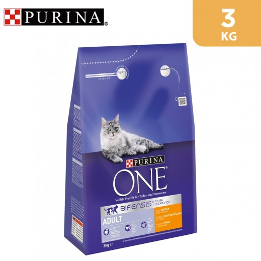 Purina One Adult Cat Chicken And Whole Grains 3 kg
