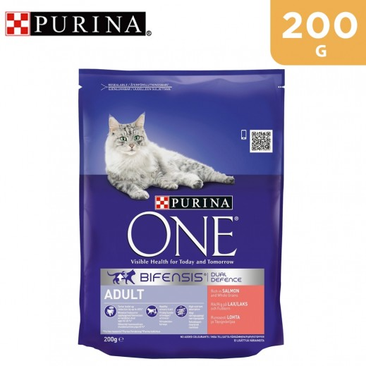 Purina One Adult Cat Salmon 200 g