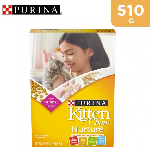 Purina Kitten Chow Dry Food 510 g