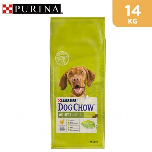 Purina Dog Chow Adult (+1 year) With Chicken Dry Dog Food 14 kg