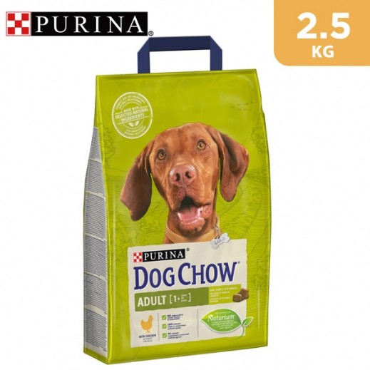 Purina Dog Chow Adult (+1 year) With Chicken Dry Dog Food 2.5 kg