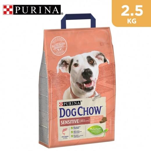 Purina Dog Chow Sensitive With Salmon Dry Dog Food 2.5 kg