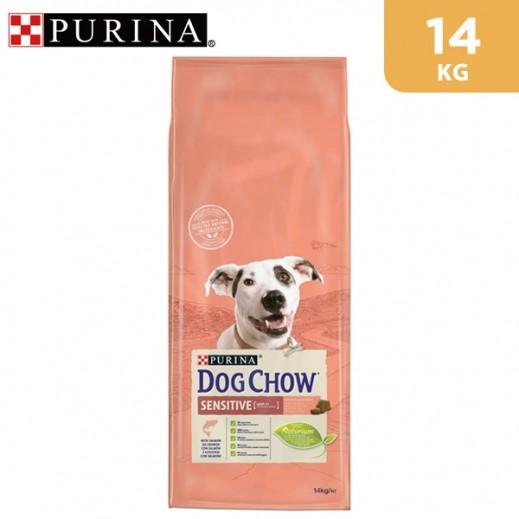 Purina Dog Chow Sensitive With Salmon Dry Dog Food 14 kg