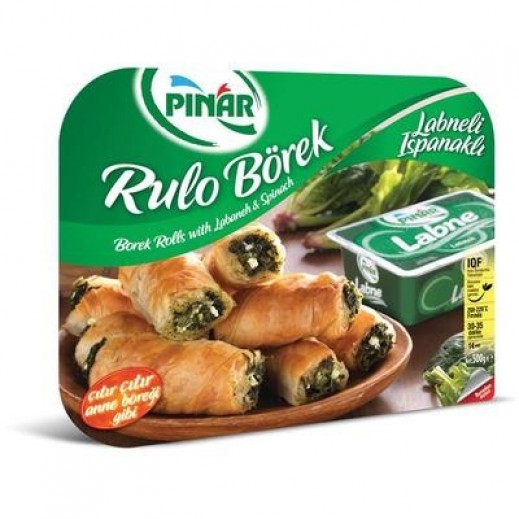 Pinar Borek Rolls with Labenah and Spinach 500 g