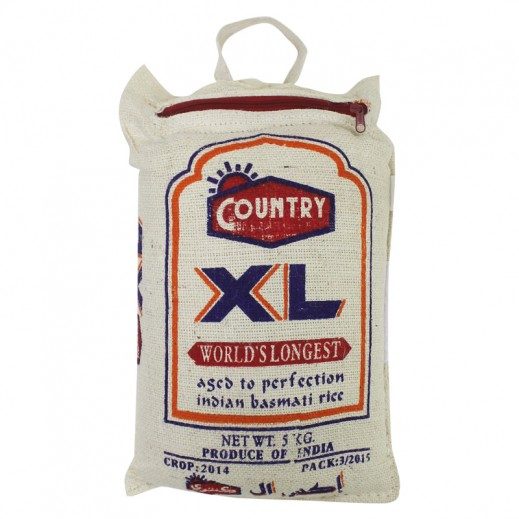 Country XL Indian Basmati Rice 5 kg