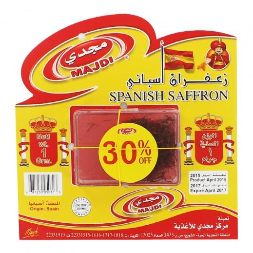 Majdi Spanish Saffron Mancha 1 g