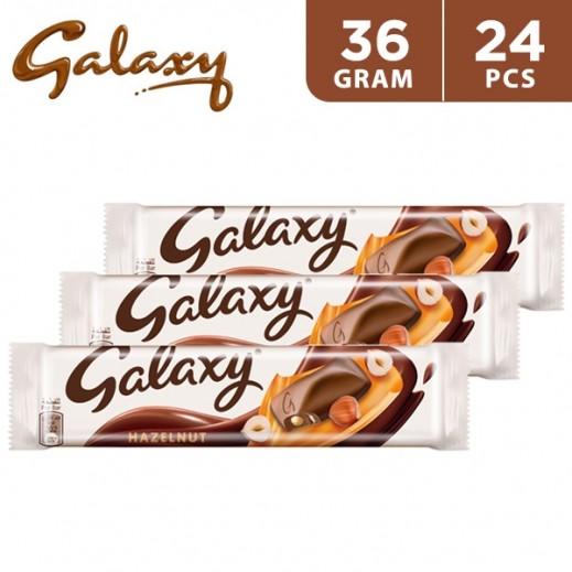 Galaxy Hazelnut Chocolate 24 x 36 g