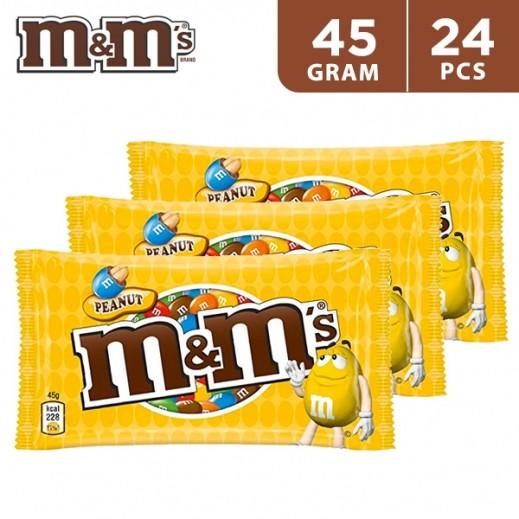 MMs Peanut 24x45 g