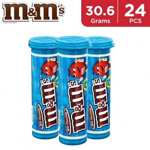 M&M Minis Tube 24 x 30.6 g