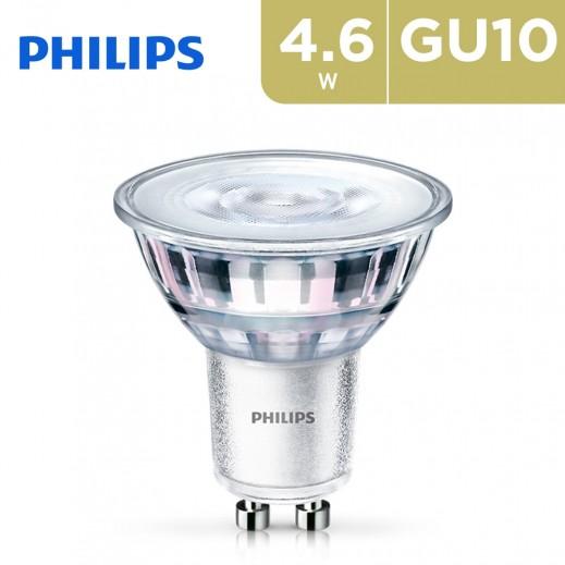Philips LEDSpot 4.6W 2500K GU10 Base LED Spot Light - Warm White