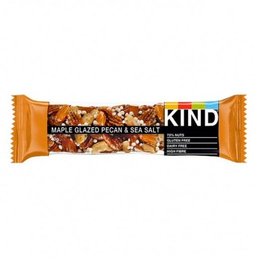 Be Kind Snack Bar Maple Glazed Pecan & Sea Salt 40 g