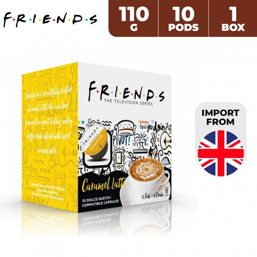 Friends Dolce Gusto Latte Caramel Capsules 110 g (10 Capsules)