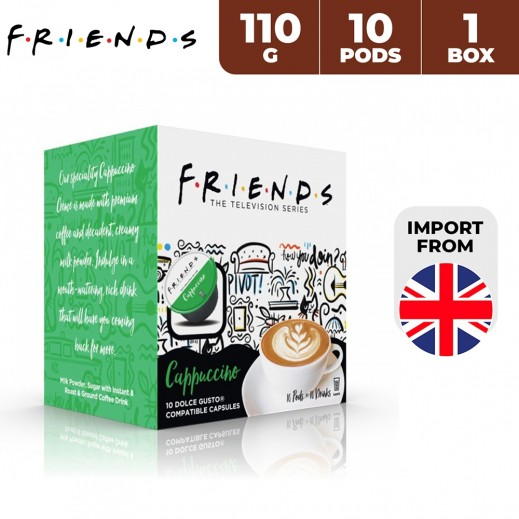 Friends Dolce Gusto Cappuccino Capsules 110 g (10 Capsules)