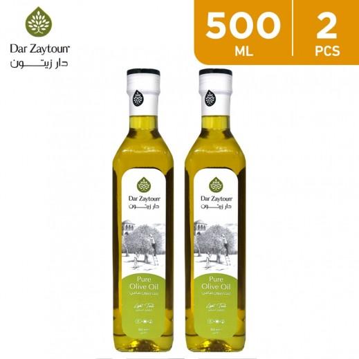 Dar Zaytoun Pure Olive Oil 2 x 500 ml