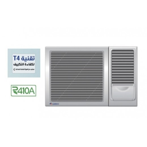 GREE 18,300BTU 1.5 Ton Window Air Conditioner with T4 Technology - White - delivered by  AL-YOUSIFI Within 3 days