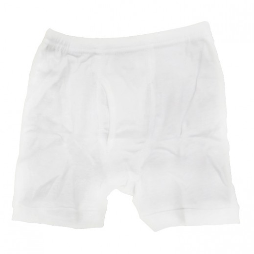 Try Underwear Men's Half Pants White M - XXXL