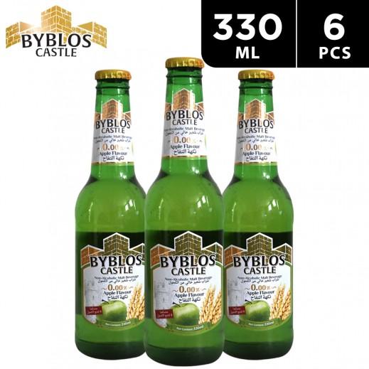 Byblos Castle Apple Flavour Malt Beverage 6 x 330 ml