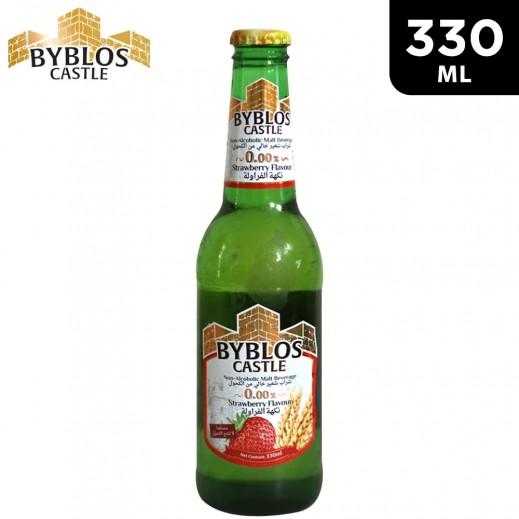 Byblos Castle Strawberry Flavour Malt Beverage 330 ml