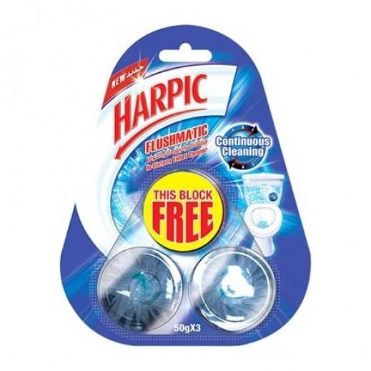 Harpic Flushmatic Cleaning-Original 3x50 g