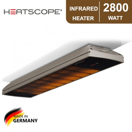 Heatscope 2,800 W Spot Infrared Heater - Gray