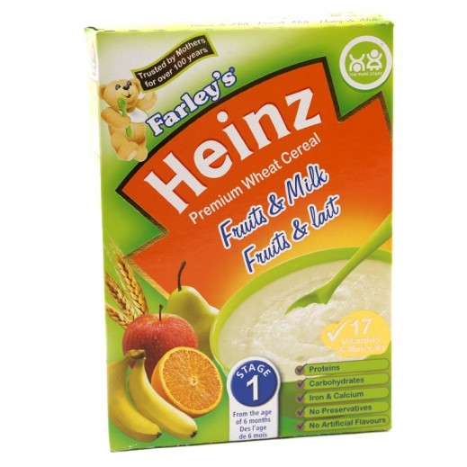Heinz Farley Stage 1 Wheat & Mix Fruit Cereal 250 g