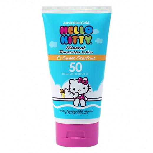 Australian Gold Hello Kitty SPF 50 Sunscreen Lotion 150ml