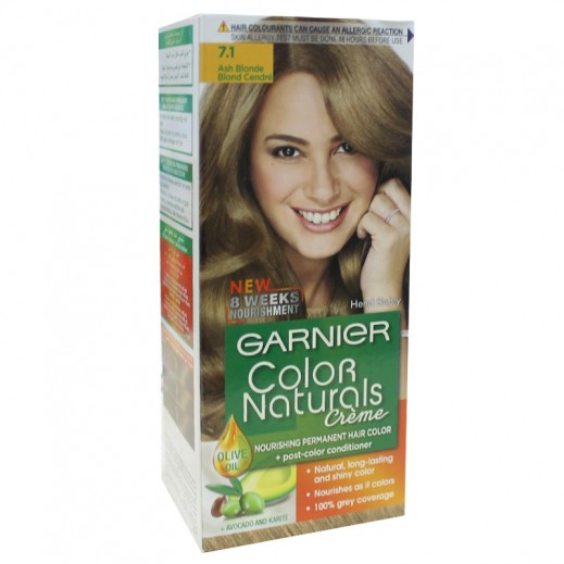 Garnier Colour Naturals 7 1 Ash Blonde Hair Color توصيل