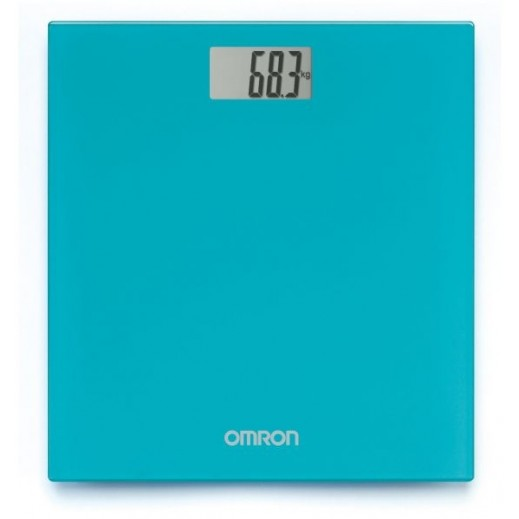 Omron Digital Personal Bathroom Scale HN289 Ocean Blue