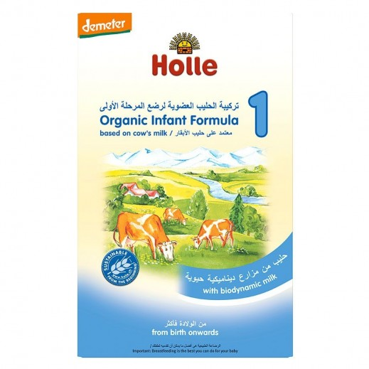 Holle Organic Cow's Milk Powder Stage 1 500 g (From Birth Onwards)