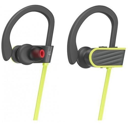 Hoco Wireless Sport Earphone - Green