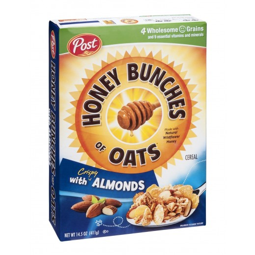 Post Cereals Honey Bunches Of Oats With Almonds 411 g