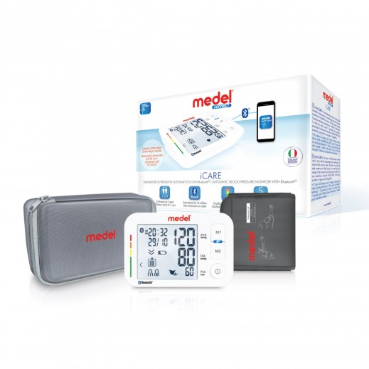 Medel iCare Automatic Upper Arm Blood Pressure Monitor With Bluetooth # 95164 - delivered by Al Essa After 2 working Days