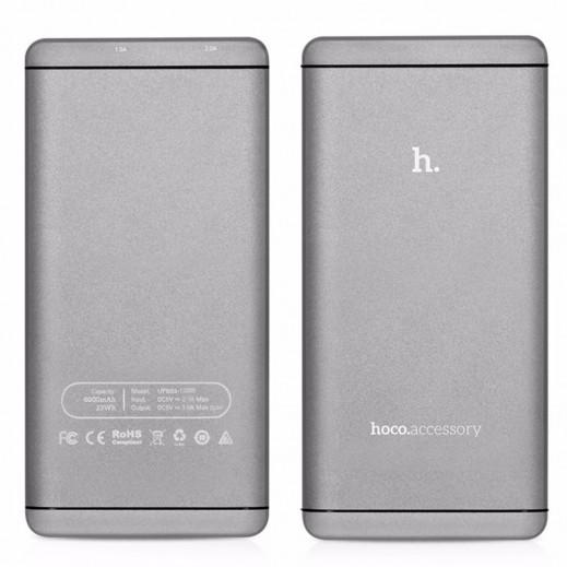 Hoco Power Bank 6,000 mAh - Grey