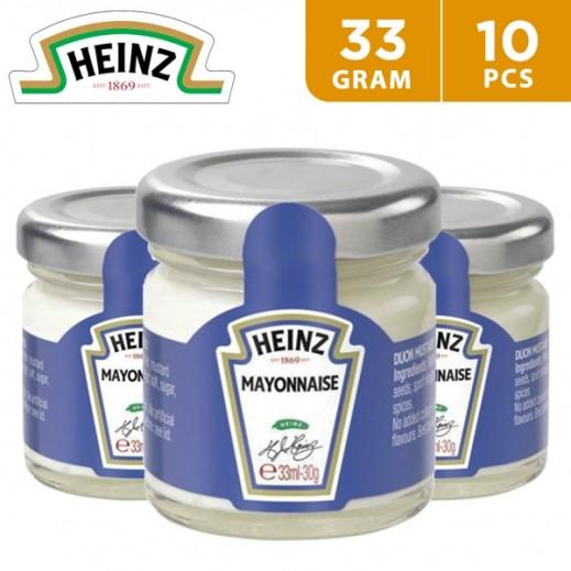 Heinz Mini Jar Mayonnaise 10 x 33 g