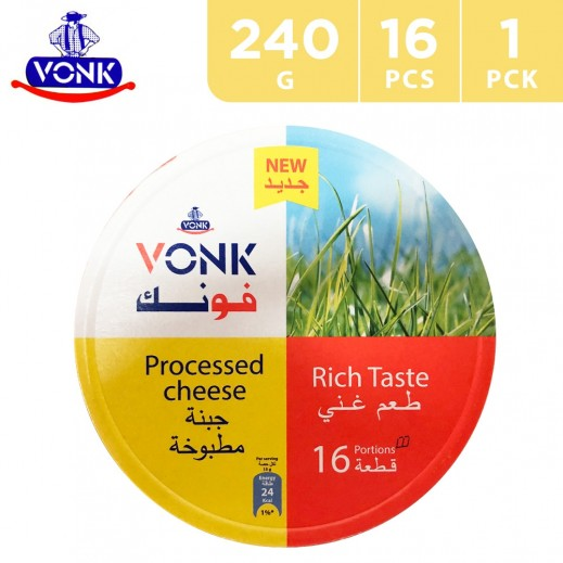 Vonk Processed Triangle Cheese 240 g (16 Portions)