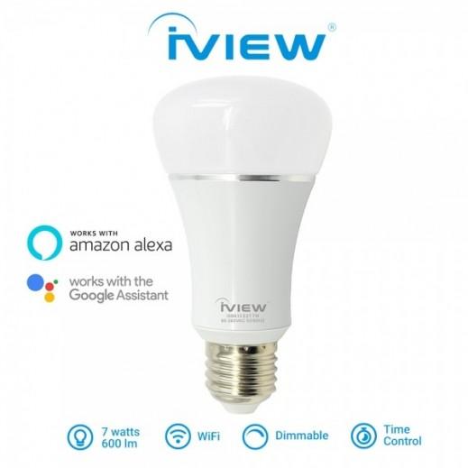 Iview 7 W Smart Wi-Fi Multi-Color LED Light Bulb