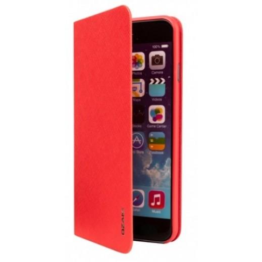 Ozaki o!Coat 0.4 + Folio Ultra Slim & Light Case For Iphone 6 Plus Red OC581RD