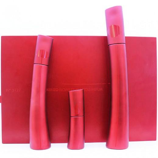 Kenzo Flower By Kenzo Le Parfum Gift Set For Her EDP 75 ml + EDP 50 ml + EDP 15 ml