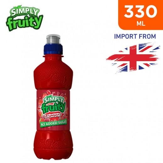 Simply Fruity No Added Sugar Strawberry Juice Drink 330 ml