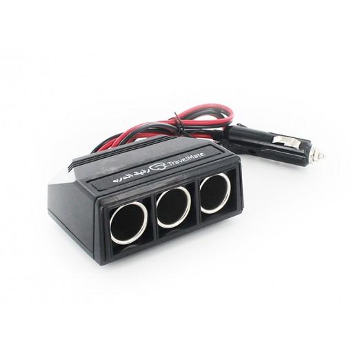 Travelmate Multi Car Socket Adapter