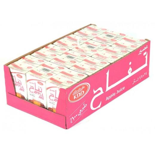 KDD Apple Juice Carton 24 x 250 ml