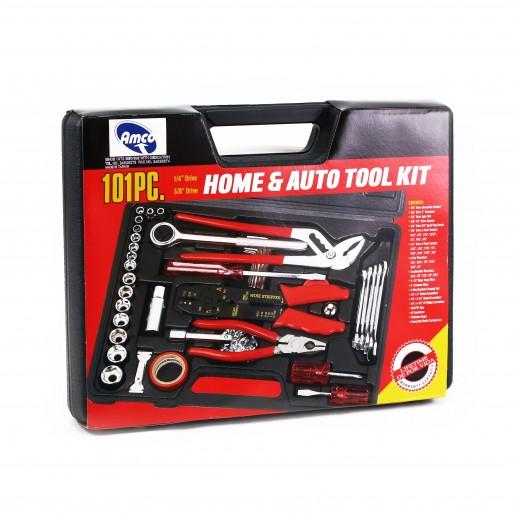 Amco Home & Auto Tool Kit 101 pcs