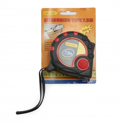 Euro Mate Measuring Tape 7.5 m